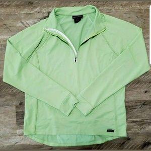 Athleta Womens Top 1/4 Zip Pullover Running Jacket